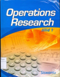 Operations research  jilid 1