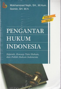 Image of Pengantar hukum Indonesia