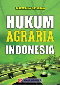 Image of Hukum agraria indonesia
