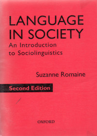Image of Language in society: an intorduction to sociolinguistics