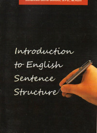 Image of Introduction to English sentence structure